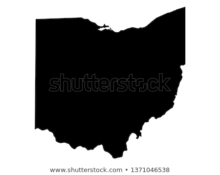 map of ohio stock photo © rbiedermann