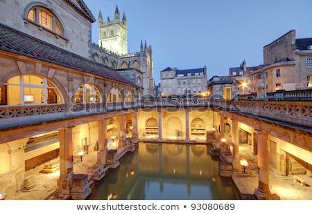Roman Baths In Bath, England Stock photo © Hofmeester