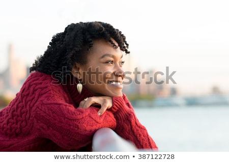 África · mujer · hermosa · manos · nina - foto stock © hasloo