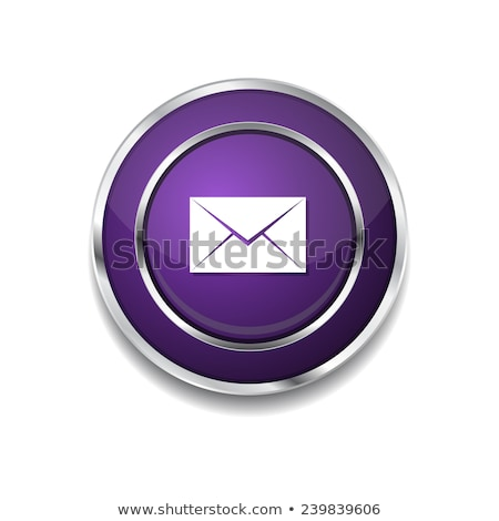 Email Circular Vector Purple Web Icon Button Stock photo © rizwanali3d