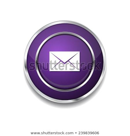 ベクトル 紫色 ウェブのアイコン ボタン ストックフォト © rizwanali3d