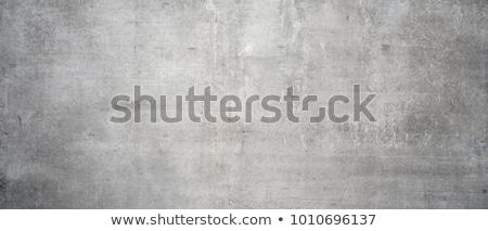 çimento duvar karanlık mavi yeşil kırık Stok fotoğraf © zhekos