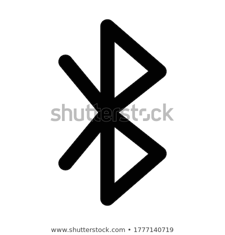 Bluetooth icon vector 3D technologie netwerk Stockfoto © Pinnacleanimates