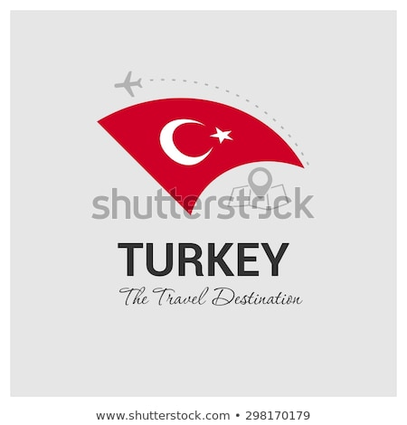 Török légitársaságok logotípus Isztambul Törökország 2015 Stock fotó © Istanbul2009