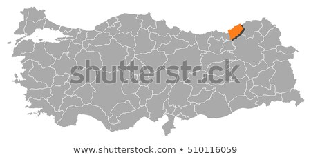 Map of Turkey, Rize Stock photo © Istanbul2009