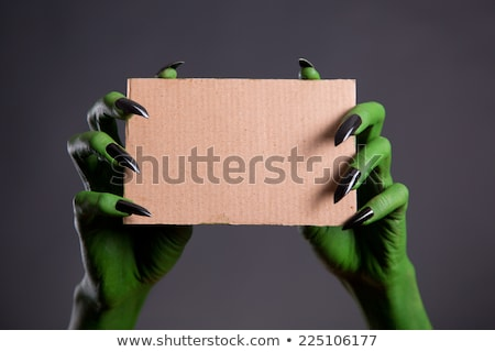 Grungy Halloween Background with Ghosts Stock photo © WaD