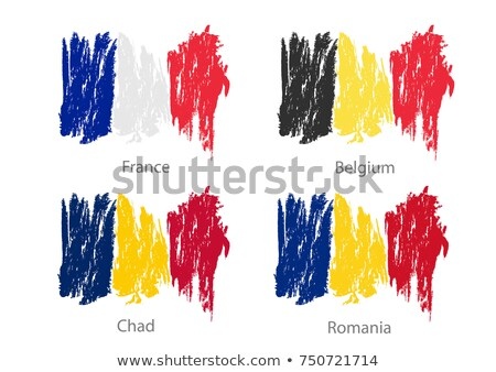 France and Chad Flags  Stock photo © Istanbul2009