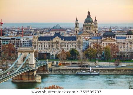 базилика · Будапешт · утра · город · Восход · башни - Сток-фото © andreykr
