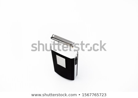 Electronic collection - closeup of hairclipper Stock photo © nemalo
