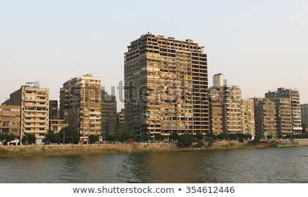 dirty urban building in Cairo Stock photo © Mikko