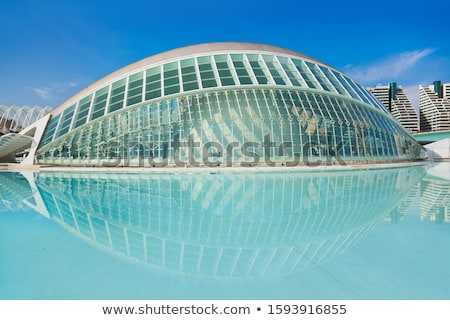 The city of the Arts and Sciences in Valencia Stock photo © artjazz