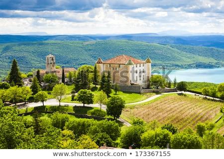 Aiguines, Var Department, Provence, France Stock photo © phbcz