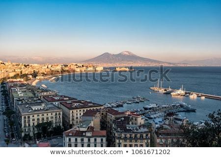 Nápoles · ver · belo · marina · Itália · água - foto stock © ilolab
