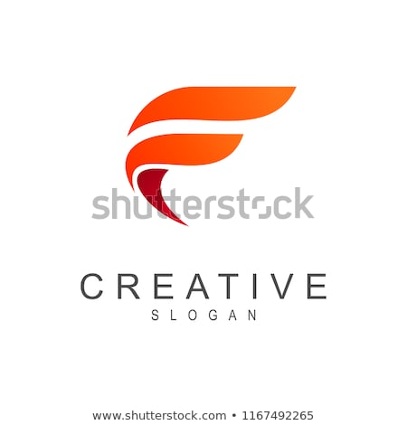 logo shapes and icons of letter f stock photo © cidepix