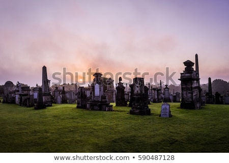 Glasgow necropolis Stock photo © claudiodivizia