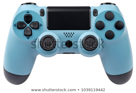 Сток-фото: Modern Joystick Gamepad Or Video Game Controller Isolated On W