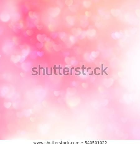 szívek · bokeh · eps · 10 · vektor · akta - stock fotó © beholdereye