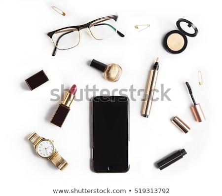 を構成する 化粧品 孤立した 白 先頭 表示 ストックフォト © janssenkruseproducti