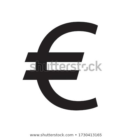 お金 ユーロ にログイン クリーン 現実的な ストックフォト © HypnoCreative