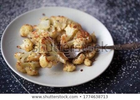Cavolfiore formaggio verde piatto Foto d'archivio © TasiPas