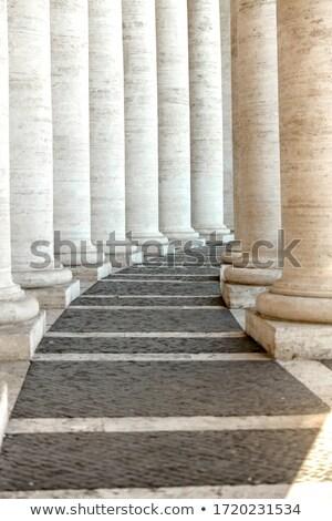 Bernini's colonnade Details Stock photo © Fotografiche