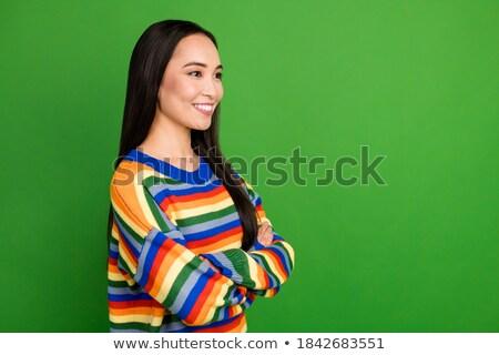 Face Of Happy Girl stock photo © dtiberio