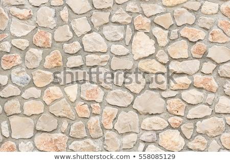Bezszwowy mur tekstury tle rock kamień Zdjęcia stock © Leonardi