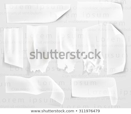 duck paper transparent Stock photo © romvo