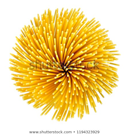 Bundle of dried spaghetti Stock photo © Digifoodstock