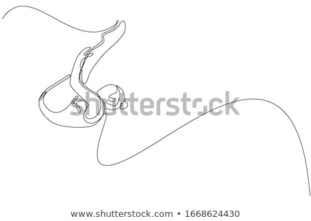 Stock photo: sports and athletics line concept