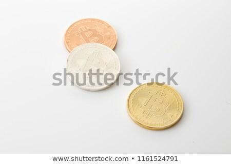 три белый символ изолированный технологий фон Сток-фото © compuinfoto
