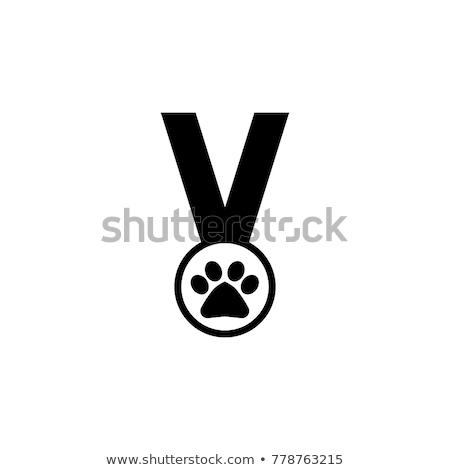 Cane vincente rosso profilo pet Foto d'archivio © IS2