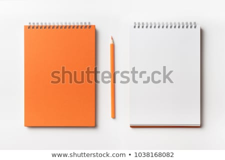 colorful notepaper and pencil Stock photo © devon