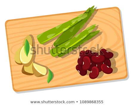 Differnt Vegetable on Chopping Board Stock photo © bluering