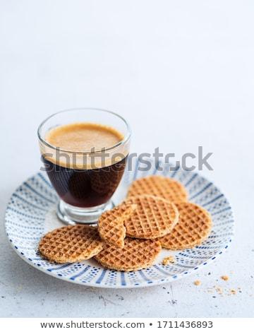 holandés · taza · café · aislado · blanco - foto stock © melnyk