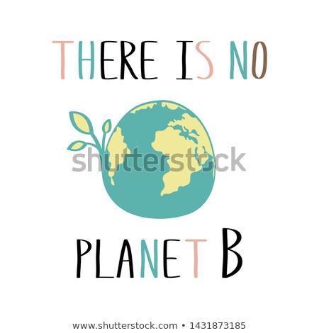 Illustrazione pianeta mappa del mondo 22 ambiente Foto d'archivio © articular