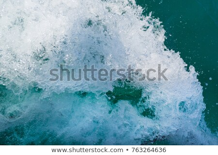 Vessel trace on seawater Stock photo © simply