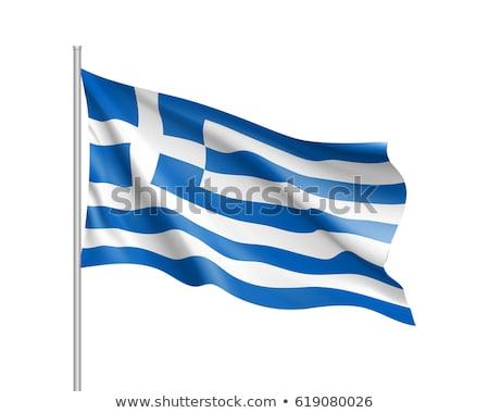 Yunanistan · bayrak · örnek · suluboya · arka · plan · sanat - stok fotoğraf © daboost