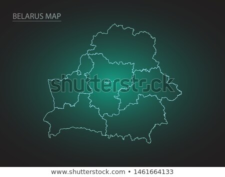 belarus map logo icon vector Stock photo © blaskorizov