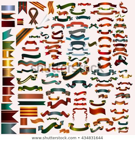 mega christmas red decorative banner design Stock photo © SArts