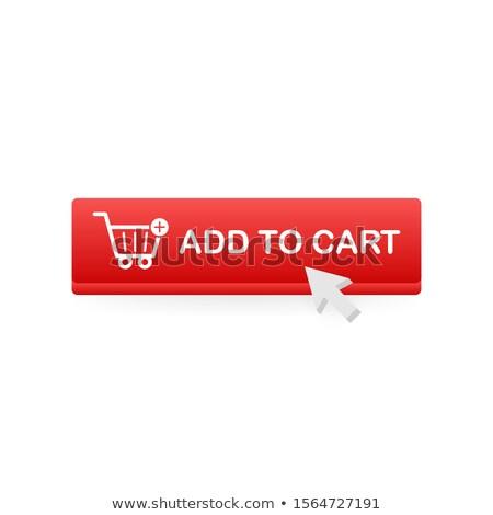 add to basket button stock photo © darkves