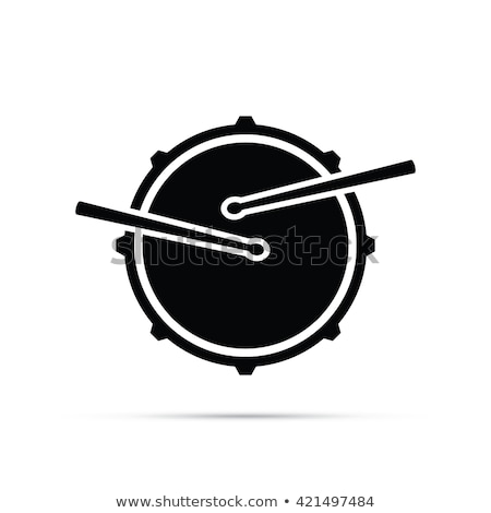 drum icon vector symbol design Stock photo © blaskorizov