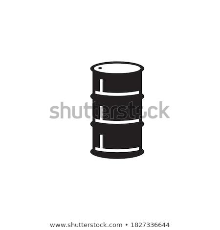 Gas markt logo geldmarkt embleem handel Stockfoto © tashatuvango