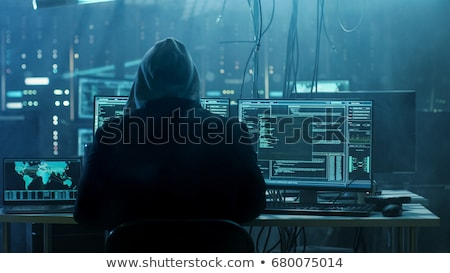 identificatie · crimineel · glas · slachtoffer · criminaliteit · man - stockfoto © rogistok