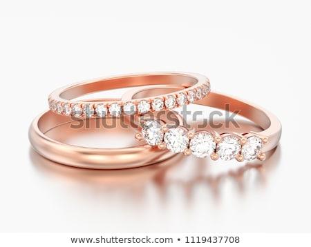 Three jewelry roses Stock photo © blackmoon979