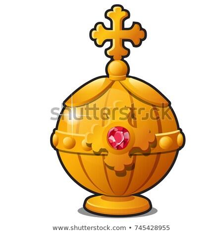 or · empereur · décoré · précieux · pierre - photo stock © Lady-Luck