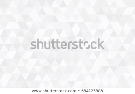 white background with triangle patterns Stockfoto © SArts