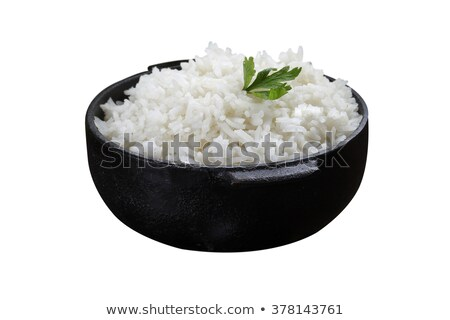басмати · риса · белый · здоровья · ложку - Сток-фото © denismart