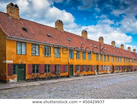 Kopenhag ev bölge Danimarka Stok fotoğraf © borisb17