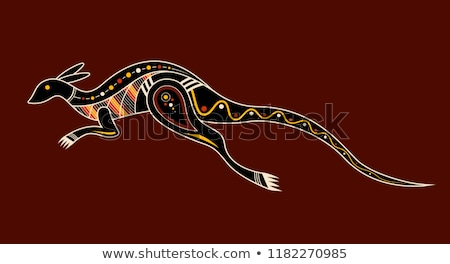 australia tourism nature and culture pattern stock photo © netkov1